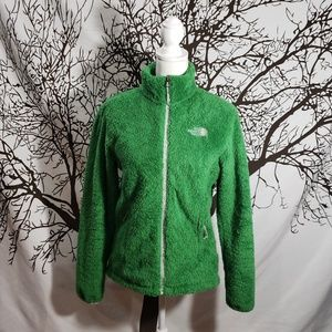The North Face Green Fuzzy Jacket